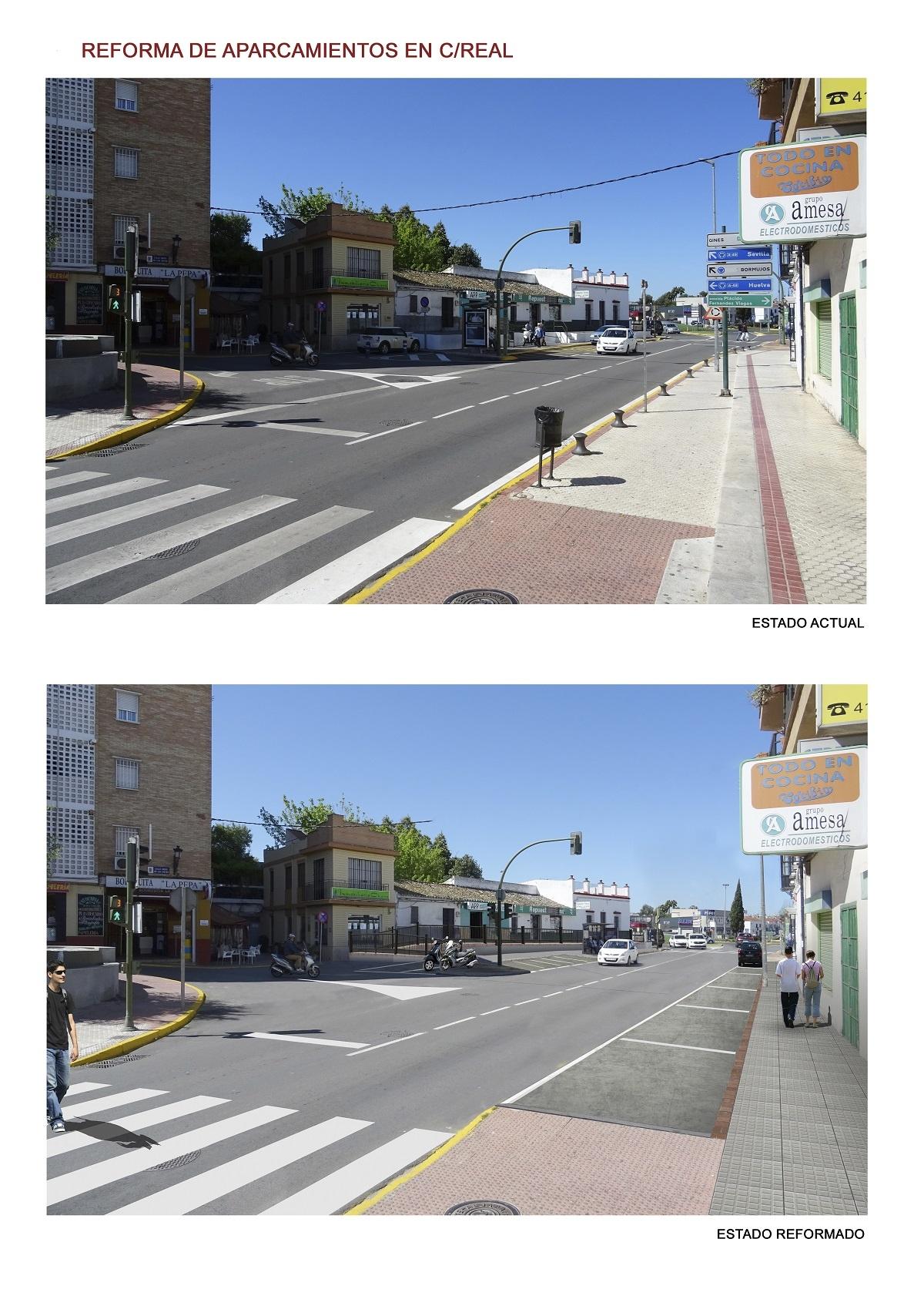 Antes_despues_aparcamientos Calle Real